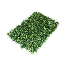 10 x Marlow Artificial Hedge Grass Boxwood Garden Green Wall Mat Fence Outdoor