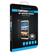 LUVVITT TEMPERED GLASS Screen Protector for HTC One M9 - Crystal Clear