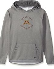Under Armour Girls Xl Minnesota Golden Gophers Fleece Pullover Hoodie New