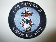 b4820 Us Air Force Vietnam F4G Phantom Ii Advanced Wild Weasel Patch Ir21F