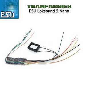ESU Loksound 5 Nano Art 58923 - Free sound installation UK stock