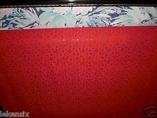Coupon dentelle de calais rare  coloris  rose vif  lycra 1 m sur 5 ms à saisir