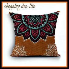 Geometric Bohemian Square Decorative Cushions & Pillows