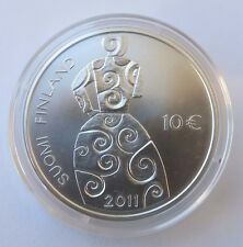 FINLANDE -  10 Euro - 2011 HELLA  WUOLIJOKI   (TIRAGE 5.000) BU