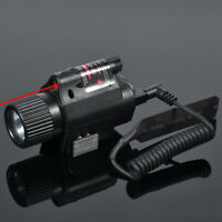 Tactical Flashlight Combo Red Laser Illuminator M6 Red Laser Sight Scope +3 Mode