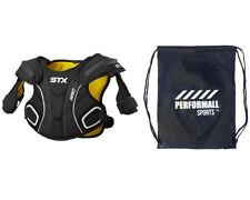 Stx Impact Lacrosse Shoulder Pad Medium Black
