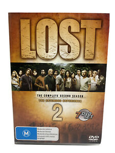 Lost - The Extended Experience : Season 2 (2007 : 7 Disc DVD) Region 4