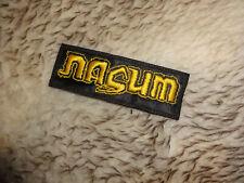 Nasum Patch Death Metal Grindcore Rotten Sound Nailbomb