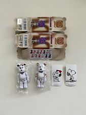 Peanuts 100% Bearbrick Series 40 S40 Cute Pair 2 Set Belle Secret Chase Snoopy