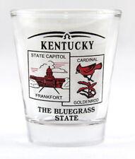 KENTUCKY STATE SCENERY RED NEW SHOT GLASS SHOTGLASS
