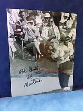 Bob Goalby 1968 Masters Winner Signed Autographed 8x10 Color Photo JSA M57418