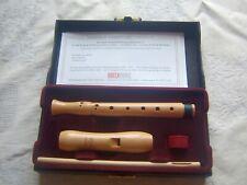 Wooden Moeck Rondo  Sopranino Recorder, Baroque, no Signs of Use