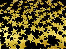 edle Streu Konfetti Sterne 10mm - Gold - Weihnachten Karten Basteln Tischdeko