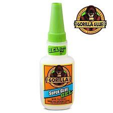 Gorilla Super Glue Gel 15g Impact Tough Formula Rubber Reinforced Green Top