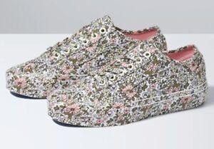 Vans Mono Floral Old Skool Tapered Shoe