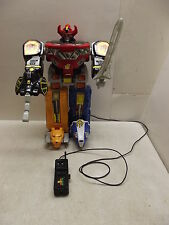 1994 POWER RANGERS REMOTE CONTROLLED MEGAZORD MARCHON WORKS GREAT