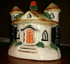 Antico Staffordshire SOLDI SALVADANAIO MAGICO Fairytale Cottage firmata K P
