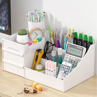 Plastic Cosmetic Makeup Storage Box Organizer Case Holder Jewellry Drawer Table