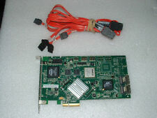 AMCC 3Ware PCI-Express 8 Port RAID Controller Card w/ Cables 9590SE-8ML