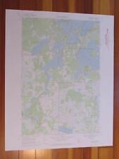 Minnewawa Minnesota 1972 Original Vintage USGS Topo Map