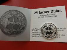 *Emden 2 1/2facher Dukat 1745 *Silber Münze/Medaille 1984/ca.11,2g.-30mm(Ki1