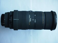 OLYMPUS 4/3 FIT Sigma OS APO DG HSM 50 - 500 mm F/4.5-6.3 Lens + HOOD 50-500mm
