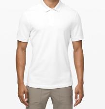 Lululemon Tech Pique Polo Size XS White Anti-Stink Tech Golf $98 NWT