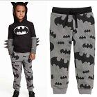 2015 A scatto Da Bambini Fumetto Per Batman Stampato Tuta Pantaloni Casual 2-7Y