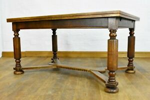 Antique vintage Very large 8 - 10 seater extending dining table
