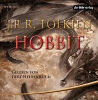 GERT HEIDENREICH - J.R.R.TOLKIEN-DER HOBBIT (LESUNG)  10 CD  HÖRBUCH  NEU