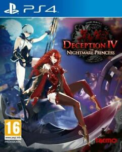 Deception IV - The Nightmare Princess (Playstation PS4) BRAND NEW & SEALED