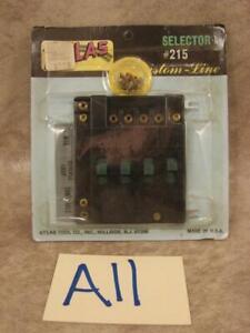 A11B VINTAGE ATLAS HO SCALE #215 SELECTOR