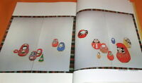 The Picture of Bodhidharma book from Japan Japanese daruma doll #0778