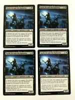 MTG Magic Playset 4x Garde de nuit des Kalastria Nightwatch Bataille Zendikar VF