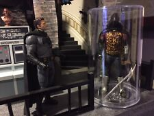CUSTOM BATCAVE prop ROBIN MEMORIAL 1/12 scale display BATMAN V SUPERMAN doj