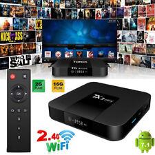 TX3 Mini 2GB+16GB Smart Android 7.1 TV Box 4K KD 17 HD Media Player WIFI AV UK