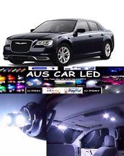 Chrysler 300 C White Interior light LED upgrade kit for dome & map ect