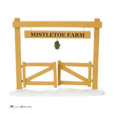 Department 56 Snow Village 4054242 Mistletoe Farm Gate New 2016