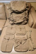 USMC Eagle Ind Complete Pack System Field Pack Coyote + Extras MINT