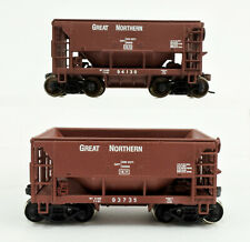 LOT OF 2 WALTHERS HO SCALE GREAT NORTHERN ORE CAR  -A