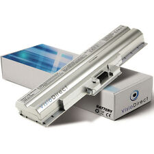 Batterie type VGP-BPS13B/Q VGP-BPS13B VGP-BPS13A 6600mAh 11.1V Couleur Silver