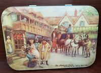 Vintage Tin-Thorne's Toffee England Pickwick Coach at White Hart Inn-Collectible