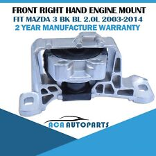 Fit for Mazda 3 Engine Mount BK BL 4cyl LF 2.0L 2003-2014 Front Right Hand RH