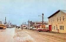 Nome Alaska Street Scene Historic Bldgs Vintage Postcard K58426