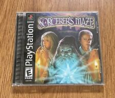 Sorcerer's Maze (Sony PlayStation 1, 2003) Barely Used