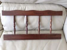 2 Furniture Rails with Turned Spindles
