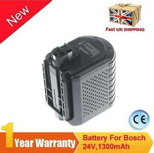Battery For Bosch GBH 24VRE 24V 1.3AH Cordless Hammer Drill SDS Plus 2607335215