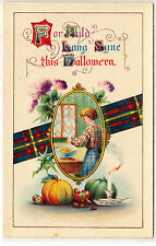 """Auld Lang Syne this Halloween"" - Festive Family-Friendly graphics - early 1900s"