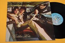 SUZI QUATRO LP 1°ST ORIG ITALY COLUMBIA 1975 NM ! MAI SUONATO ! GATEFOLD COVER !