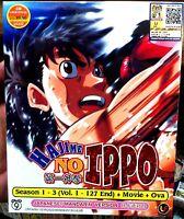 Fighting Spirit: Sea.1 2 3 (VOL.1 - 127 End + Movie + OVA) ~ Hajime no Ippo ~